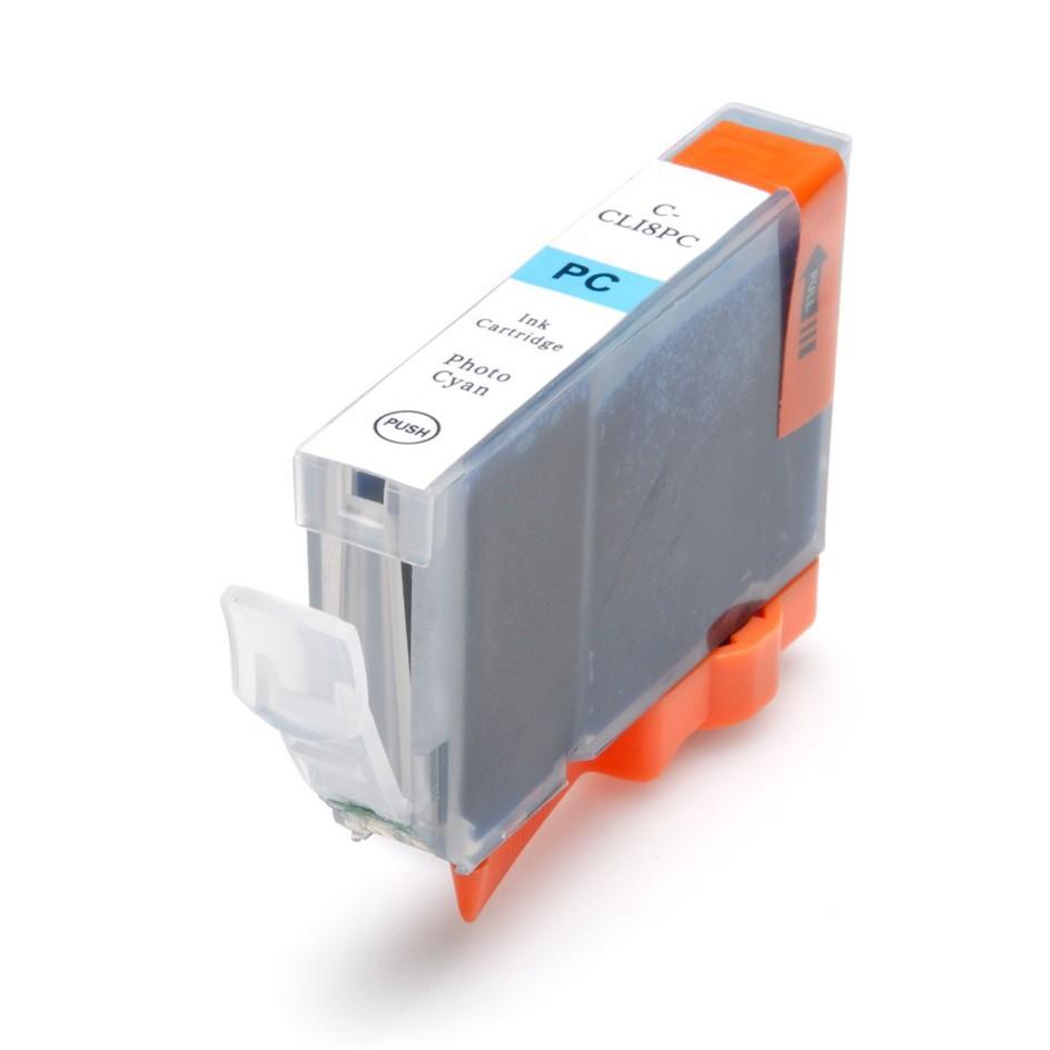 Canon CLI 8PC (14 ml) foto Cyan kompatibel blækpatron