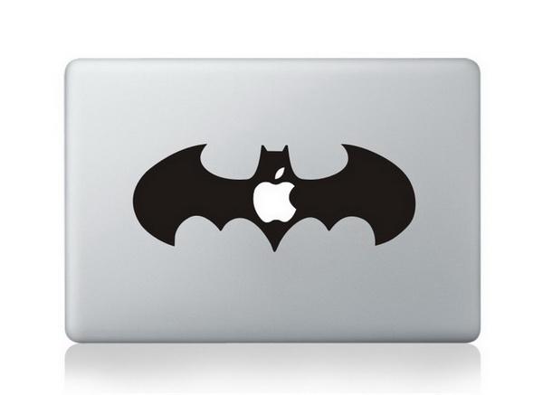 MacBook sticker Batman Logo