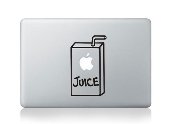 MacBook sticker Juice
