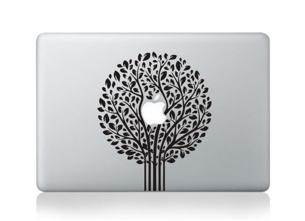 MacBook sticker Træ